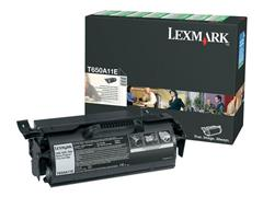 Lexmark T650 Toner, Single Pack, Zwart