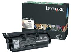 Lexmark T654 Toner, Single Pack, Zwart