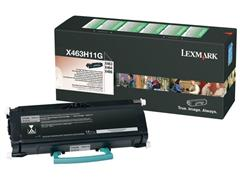 Lexmark W850 Toner, Single Pack, Zwart