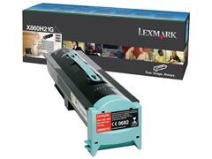 Lexmark X860 Toner, Single Pack, Zwart