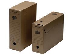 Loeff's Patent Jumbo Box Archiefdoos, Karton, 255 x 115 x 370 mm, Bruin (pak 25 stuks)