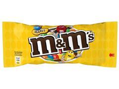 M&M'S Chocolade pinda (pak 24 stuks)