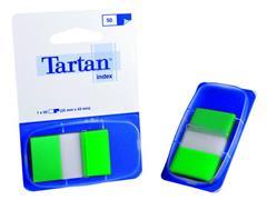 Index Tartan 25x43 groen/pad 50 stuks