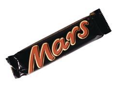 Mars Chocoladereep, 51 gram (pak 32 stuks)