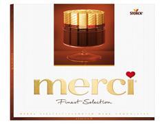 merci Chocolade assorti Finest Selection, inhoud 250g (pak 250 gram)