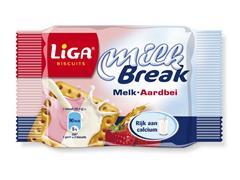 Milkbreak Melk-aardbei (pak 24 stuks)