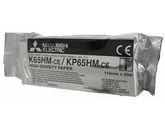 MITSUBISHI PAPER Mitsubishi - thermisch papier - 4 rol(len) - Rol (11 cm x 21 m) (pak 4 x 20 meter)