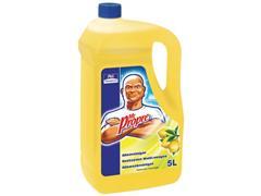 Mr. Proper Allesreiniger, vloeibaar, citroen, 5 liter, geel (doos 3 x 5 liter)