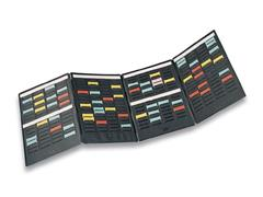 Nobo Miniplanner 2 panelen, 136 kaartjes