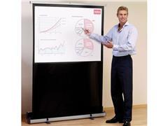 Nobo Portable projectiescherm 160 x 120 cm, vloer