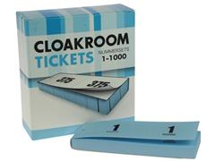 Nummerblok 1-1000 blauw/pak 10x100 (pak 10 stuks)