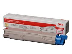 OKI 43459434 Toner, Single Pack, Magenta
