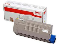 OKI C710/C711 Toner, Single Pack, Geel