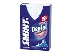 Pepermunt suikervrij, dental mint (doos 8 x 100 stuks)