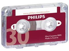 Philips Tapecassette voor dicteerapparatuur Cassette 2x15 minuten