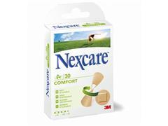 Nexcare Comfort strips pleisters In verschillende maten (pak 30 stuks)