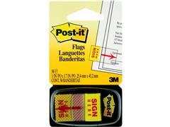 Post-it® Index met symbolen Handtekening-symbool, 25 mm (pak 50 stuks)