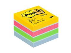 Post-it® Zelfklevend Notitieblok, 51 x 51 mm, Assorti