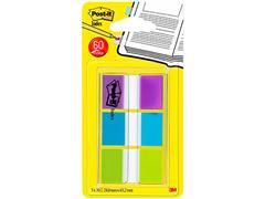 Post-it® Index Standaard 24 mm, 3 x 20 Indexen (blister 3 blokken)