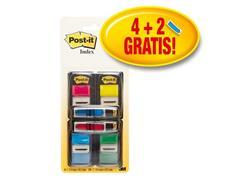Post-it® Index Value Pack 4 x Index Standaard rpakking 248 vel) (pak 200 vel)