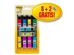 Post-it® Index Value Pack 8 x Index Smal ) (verpakking 10 stuks) (pak 10 stuks)