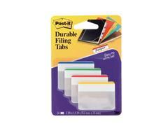 Post-it® Strong indexarchieftabs groot 50,8 x 38 mm diverse kleuren 4 x 6 verpakking 686-F1 (pak 24 stuks)