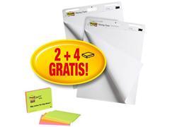 Post-it® 559P Super Sticky Flipoverblok, 635 x 774 mm, Wit