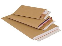 Pressel Kartonnen envelop zelfklevend, 310x235mm (pak 100 stuks)