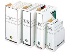 Pressel Tijdschriftcassette – stevig golfkarton Wit (pak 20 stuks)