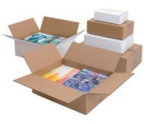 Pressel Verzenddoos 30 kg bruin 800 x 600 x 600 mm Dubbellaags golfkarton Vouwklep (doos 5 stuks)