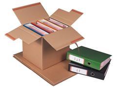 Pressel Verzenddoos voor 3-4 ordners, 325 x 295 x 325mm (pak 10 stuks)