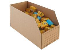 Pressel Open Voorraaddoos, 400 x 190 x 235mm (pak 20 stuks)