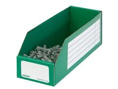 Pressel Open Voorraaddoos, 305 x 200 x 110mm, groen (pak 20 stuks)