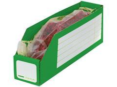 Pressel Open Voorraaddoos, 305 x 65 x 110mm, groen (pak 30 stuks)