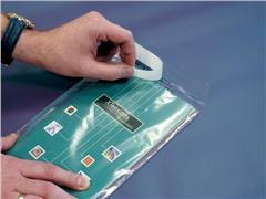 Pressel Zakje, Zelfklevend, 70 µm, 245 × 350 mm, Polyethyleen, transparant (pak 500 stuks)