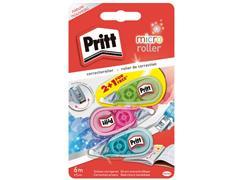 Pritt Microtape Correctieroller 5 mm x 6 m (blister 3 stuks)