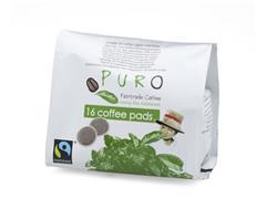 PURO Fairtrade Koffiepads (pak 16 stuks)