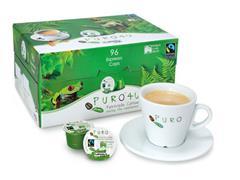 PURO Koffiecapsules Espresso, Fairtrade, 16 stuks (doos 96 stuks)