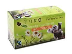 PURO Fairtrade Theezakjes, Organic Kamille (doos 6 x 25 stuks)