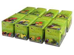 PURO Fairtrade Theezakjes, Assorti (doos 8 x 25 stuks)