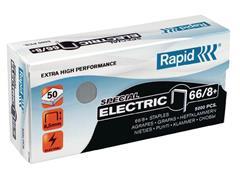 Rapid Nieten voor electrische nietmachines 66/8+ verzinkt (pak 5000 stuks)