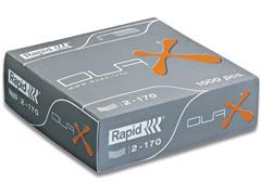 Rapid Nieten voor blokhechters Duax verzinkt (pak 1000 stuks)