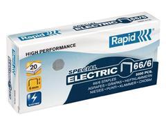 Rapid Nieten voor electrische nietmachines 66/6 verzinkt (pak 5000 stuks)