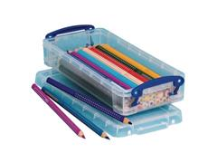 Really Useful Box Stapelbare opbergdoos transparant 0,55 l 220 x 100 x 40 mm