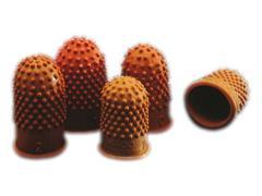 Rexel Telvinger, Maat 0, 20 mm, Rubber, Oranje (pak 10 stuks)