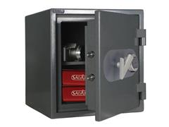 Salvus Bologna Model 46 Inbraakwerende Kluis, Elektronisch, 460 x 440 x 440 mm, Grijs