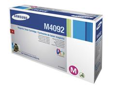 Samsung CLT-M4092S Toner, Single Pack, Magenta