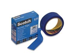 Scotch® Verzegeltape 820 35 mm x 33 m, blauw (rol 33 meter)