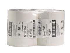 Scott® Midi jumbo toiletrollen Wit (pak 6 rollen)