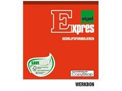 Sigel Expres Bedrijfsformulieren Werkbonblok, A5, 2x50 vel (krimp 5 stuks)
